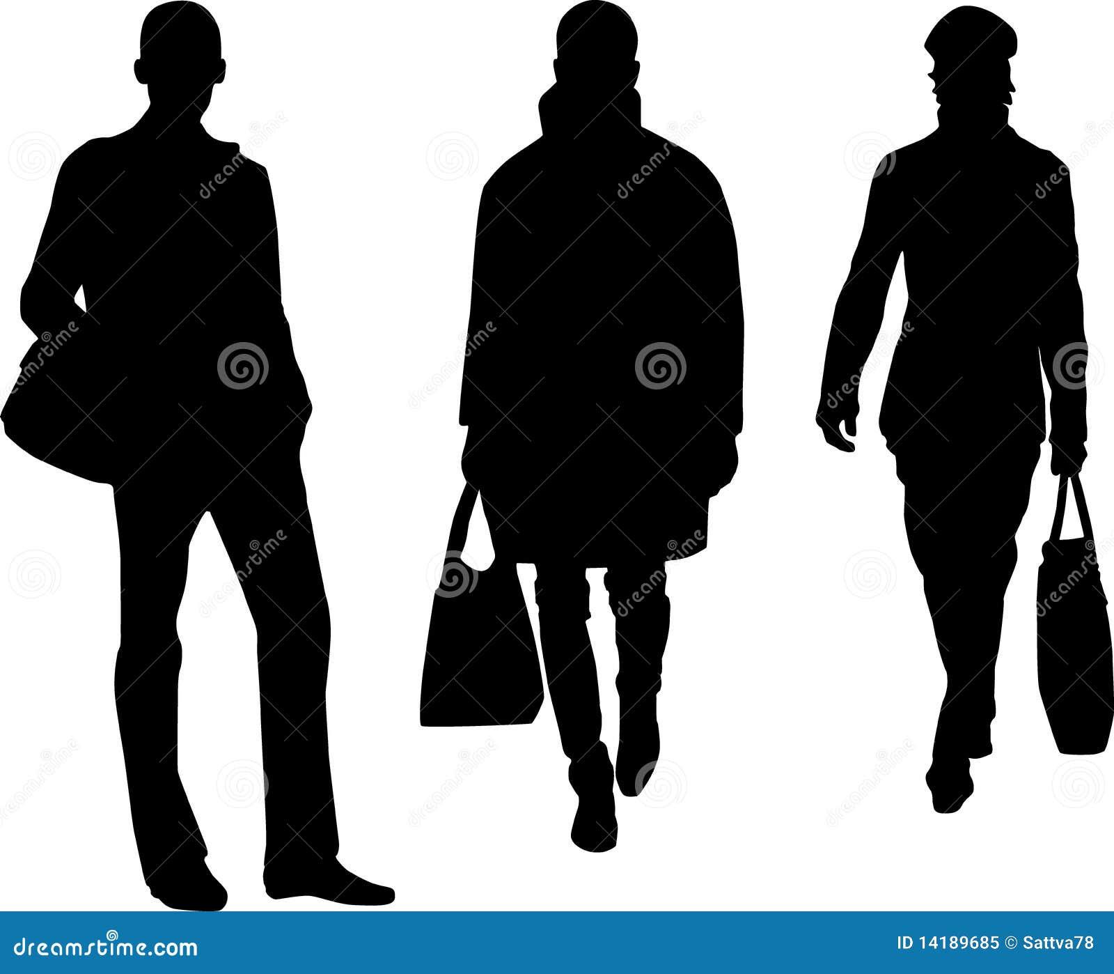 39945f9ebe6 Silhouette fashion men stock illustration of model jpg 1300x1153 Man  silhouette fashion