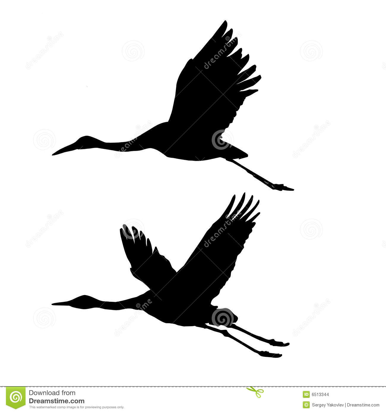 It Was Twilight And Sandhill Cranes >> Silhouette Flying Cranes Stock Images - Image: 6513344