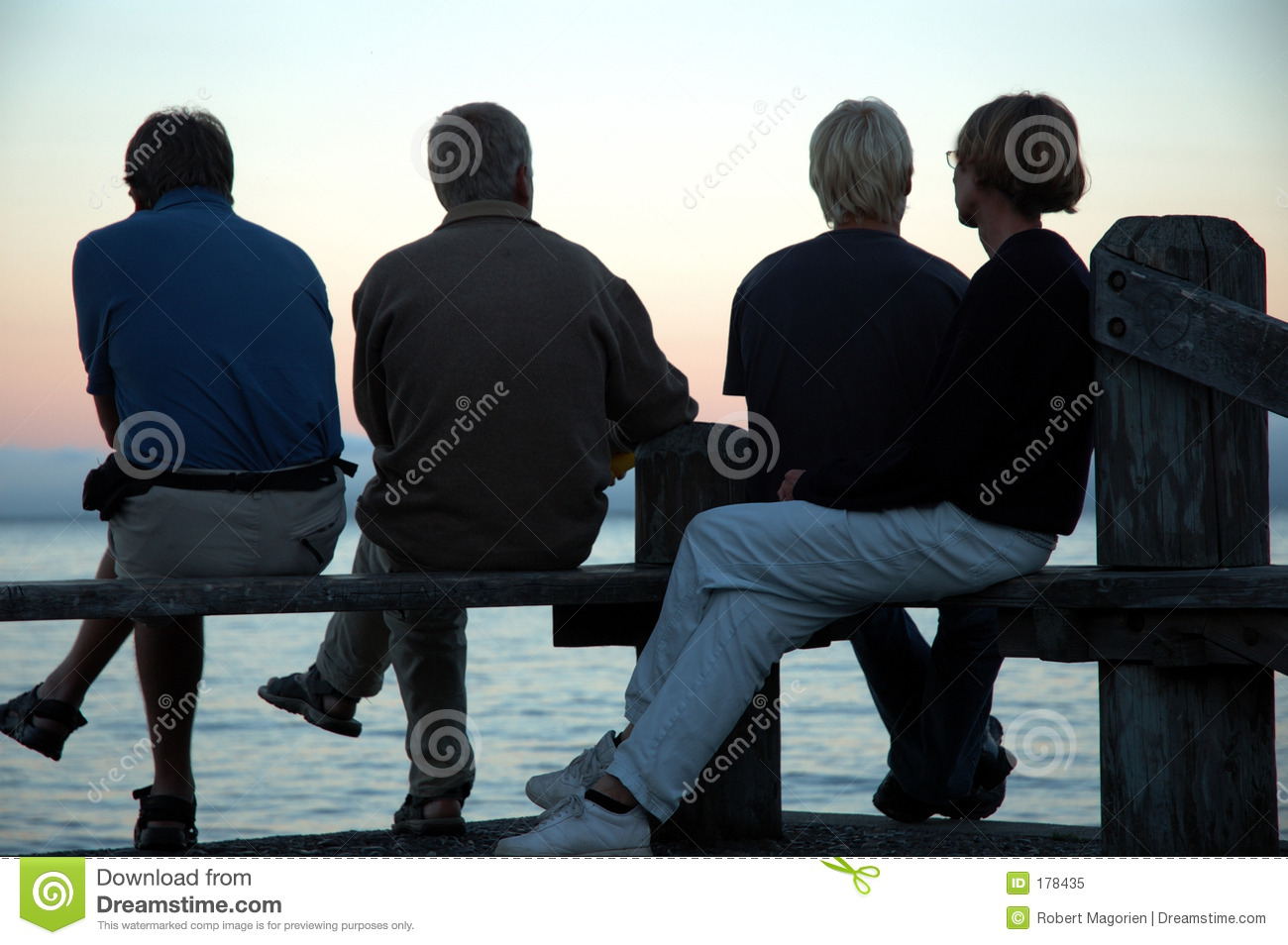 Silhouette of four people stock image. Image of adults - 178435 for People On Bench Silhouette  45ifm