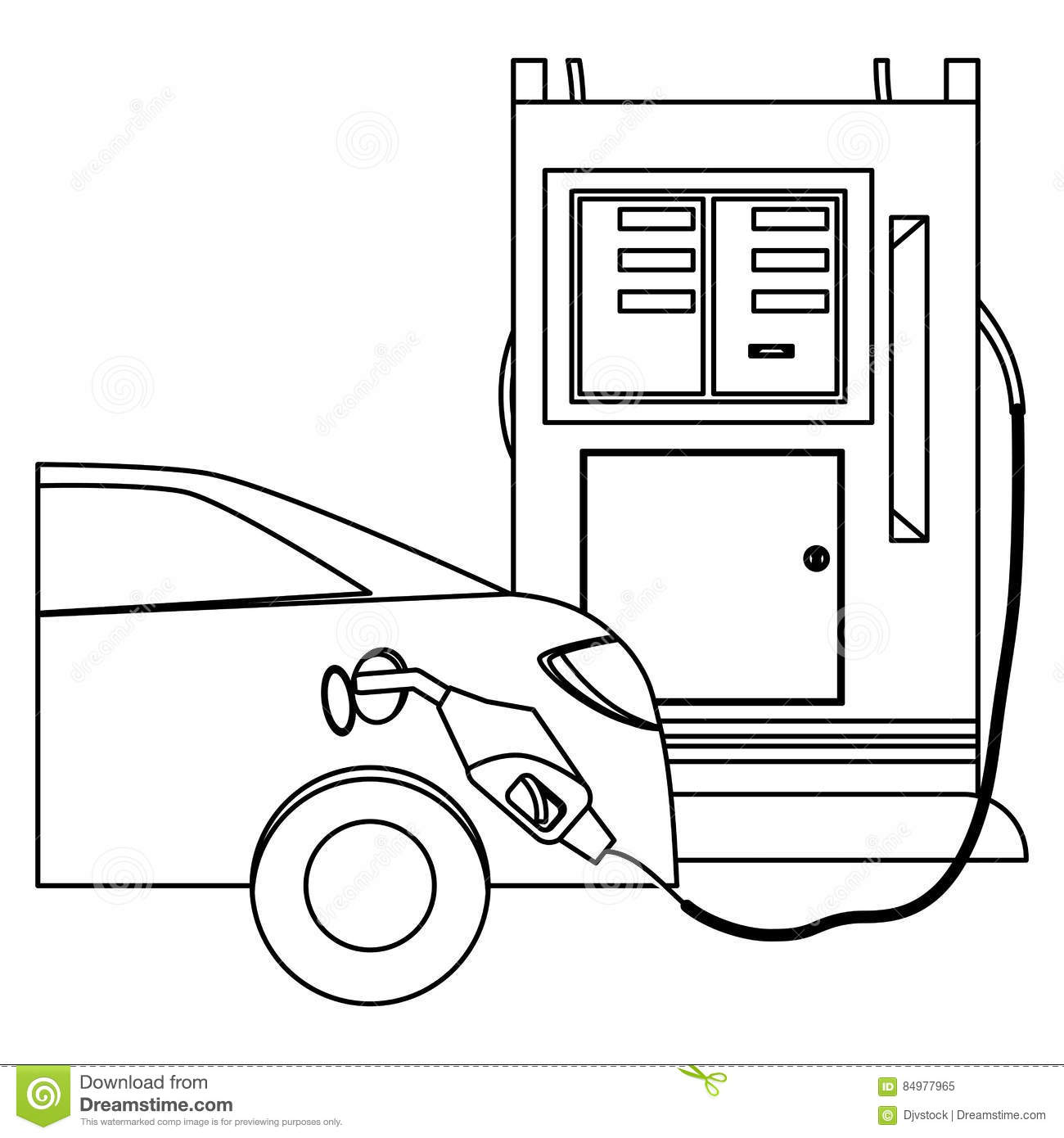 silhouette gas station filling up fuel a car stock lifeguard cross clipart lifeguard clipart free