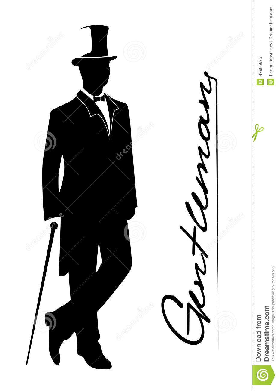 Gentleman Silhouette Stock Photos and Images  alamycom