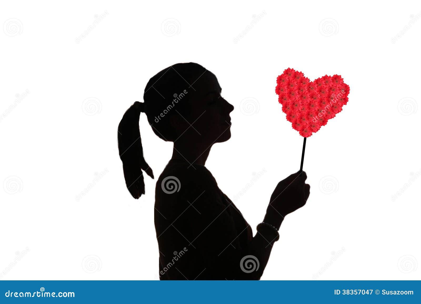 Free Heart Silhouette Clip Art