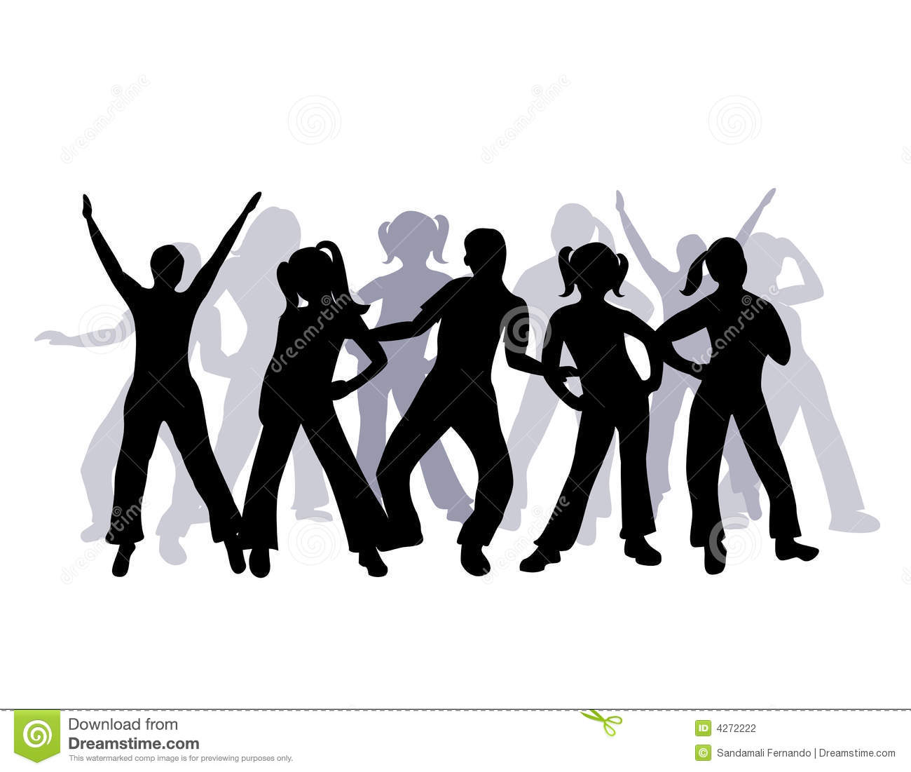 How To Read Dimensions On A Floor Plan Silhouette Group Of People Dancing Stock Photography