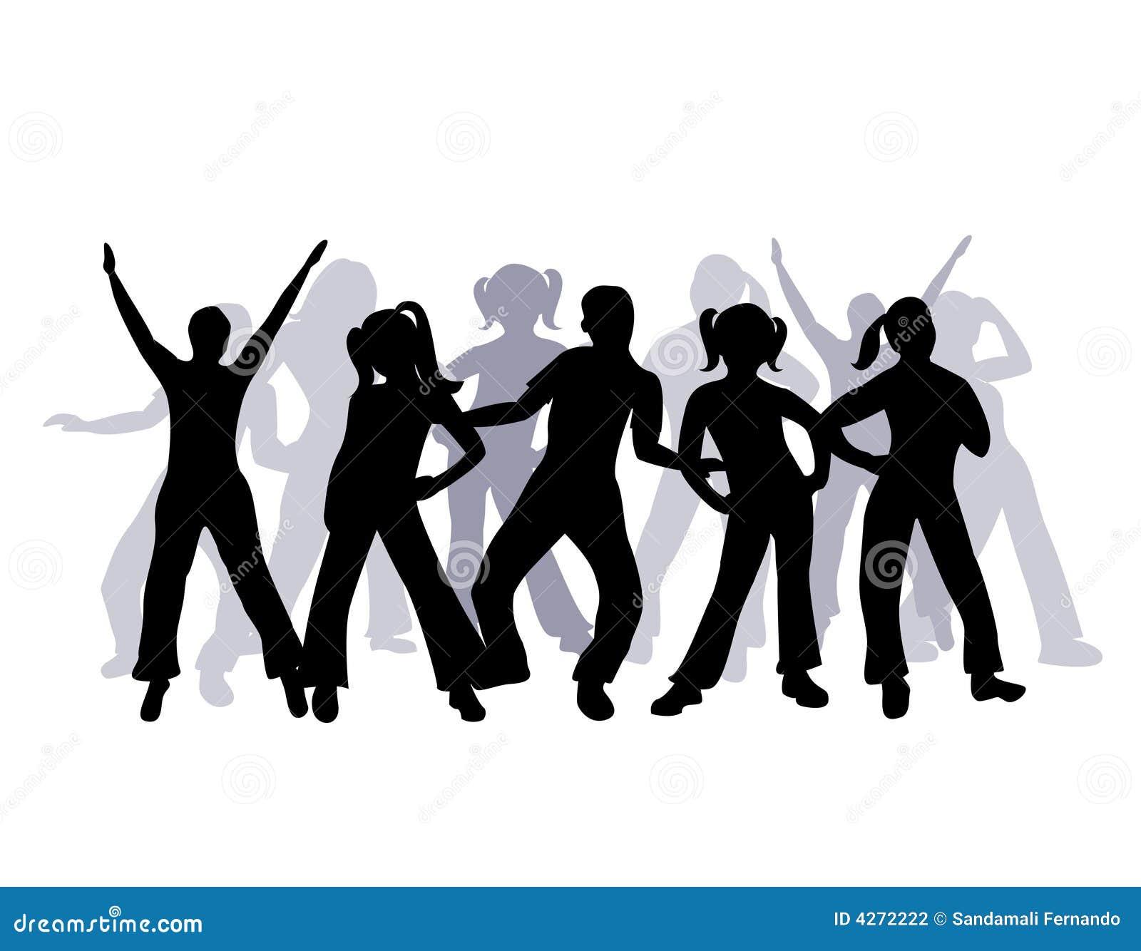 Group Of People Dancing 62