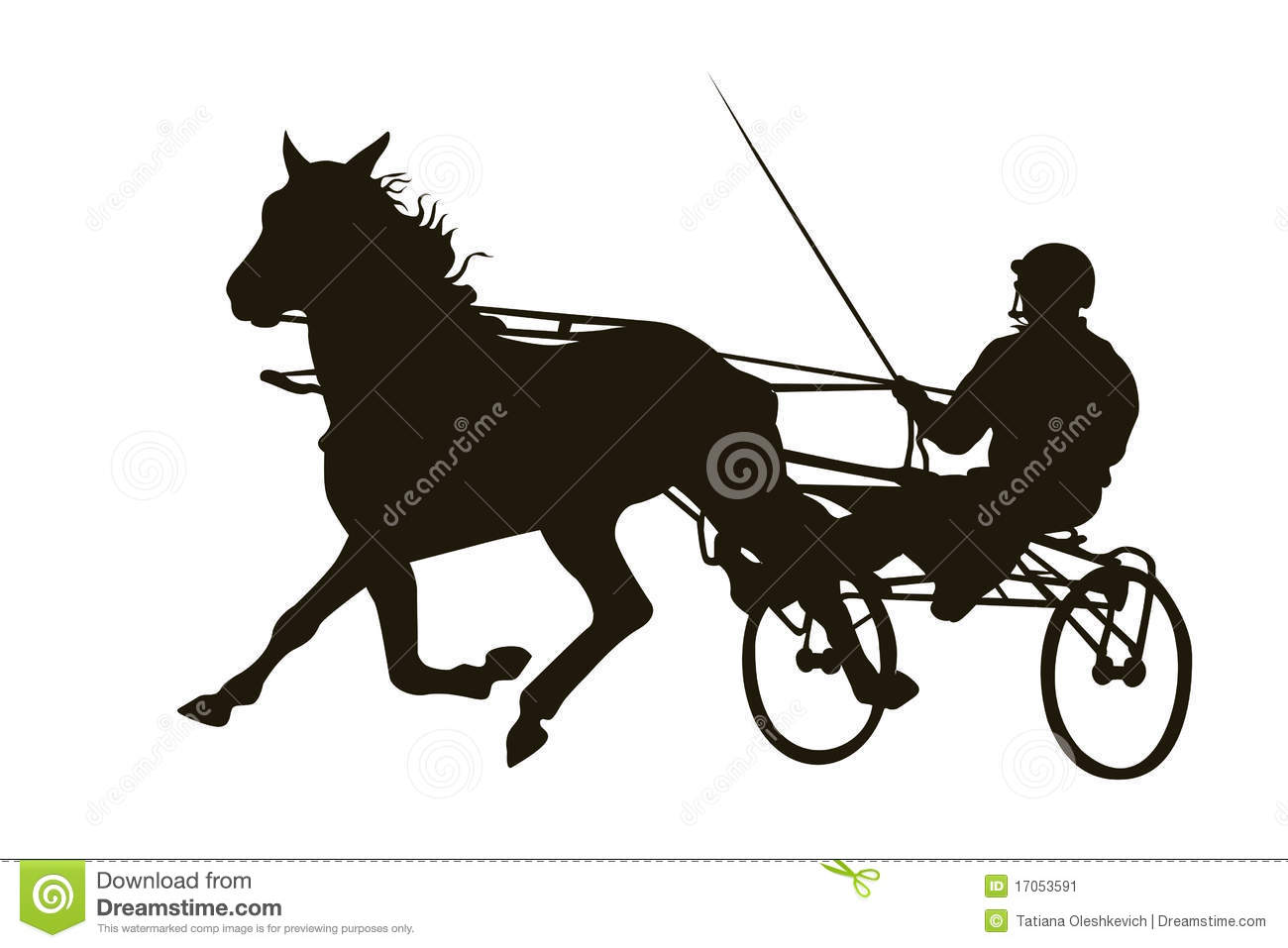 harness horse racing clip art  harness  get free image