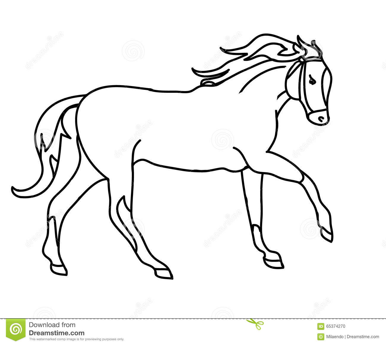 Drawing Lines With Core Graphics : The gallery for gt easy horse drawings running