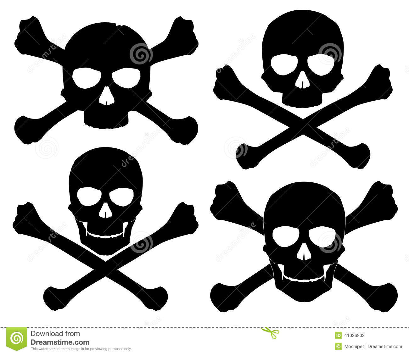 Stock Illustration Silhouette Jolly Roger Vector Illustration Image41026902 on Free Printable Pirate Coloring Pages