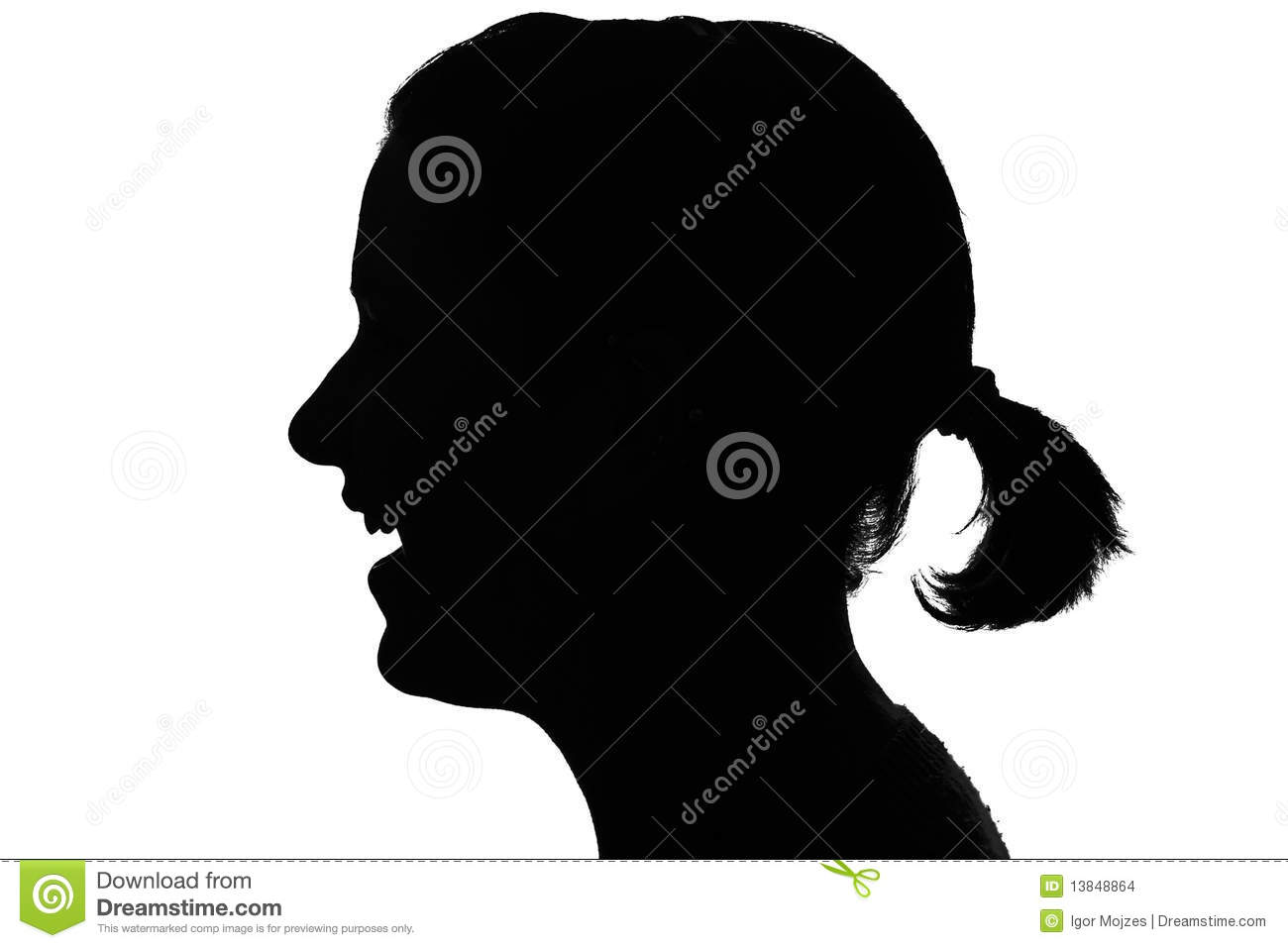 Profile Silhouette Stock Photos And Images  123RF