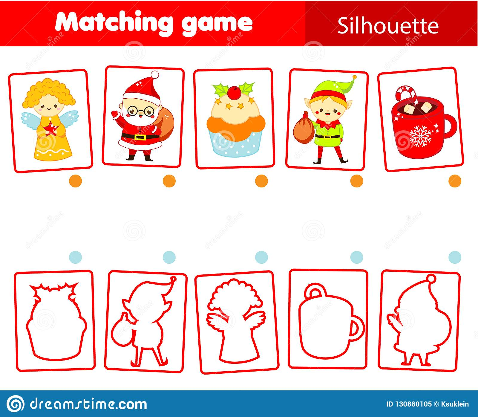 silhouette matching game kids activity christmas and new year theme fun page for toddlers stock vector illustration of coffee learning 130880105 https www dreamstime com silhouette matching game kids activity christmas new year theme fun page toddlers silhouette matching game children image130880105
