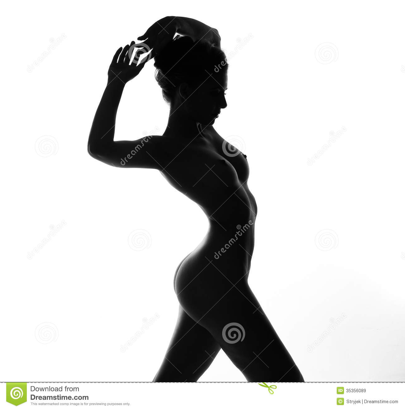 A naked woman-6393