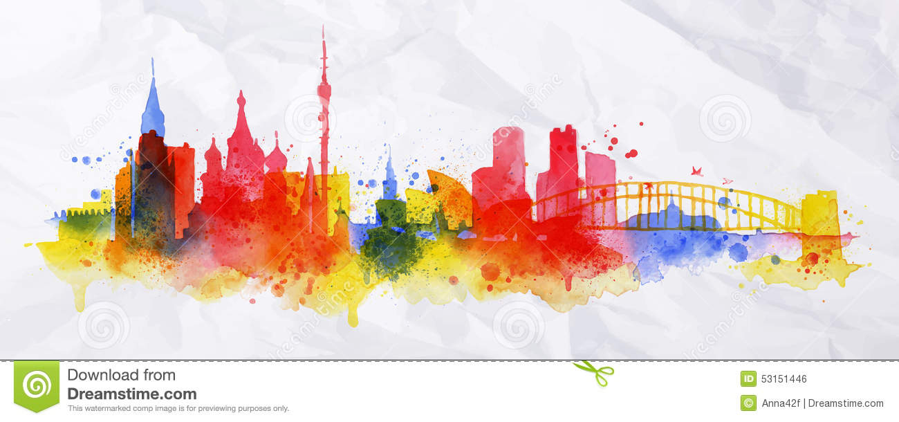 City Skyline Powerpoint Background Wiring Diagrams Circuits Gt Traffic Simple L30305 Nextgr Images Gallery