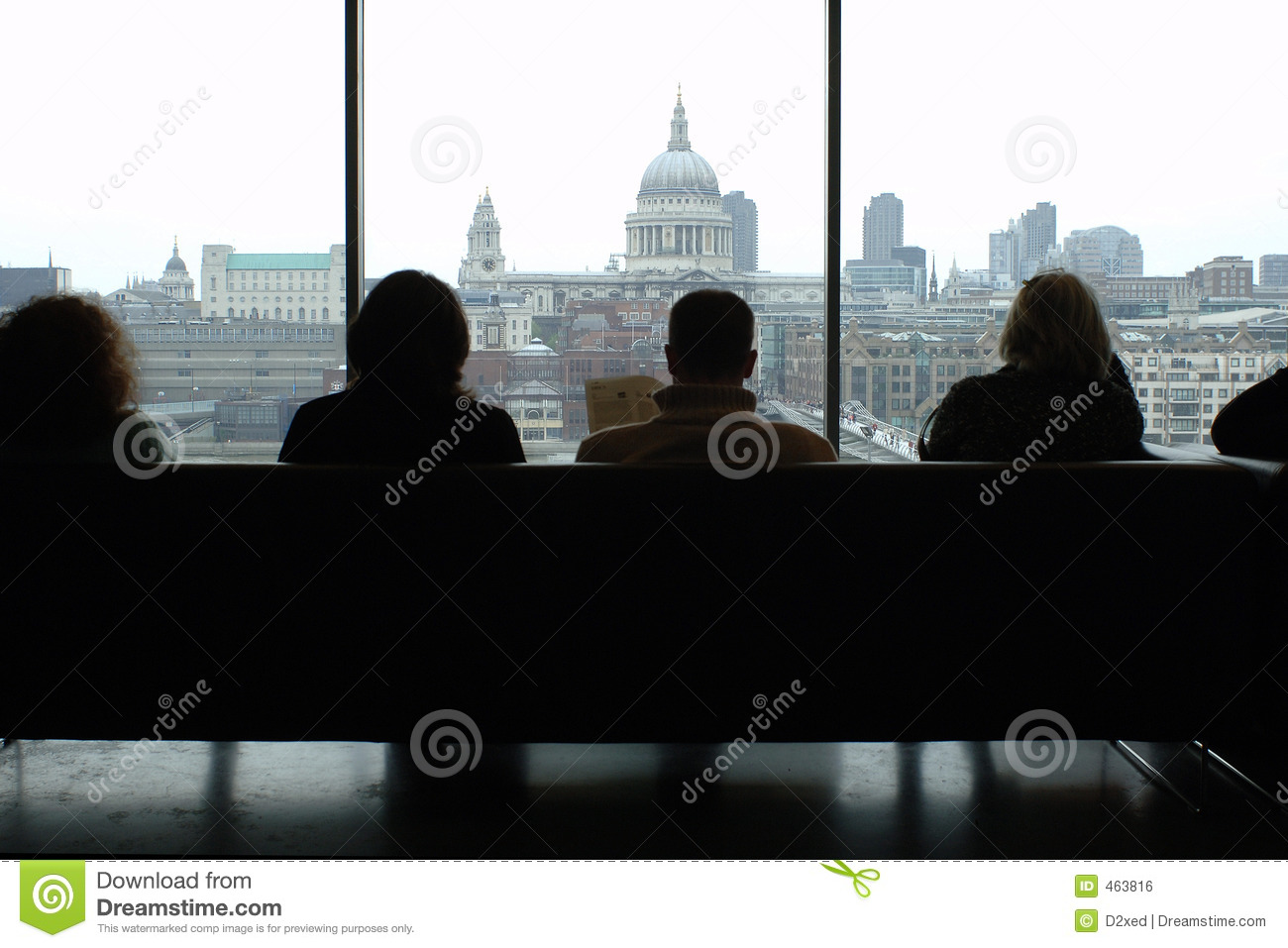 Download Silhouette of people stock photo. Image of tate, people - 463816