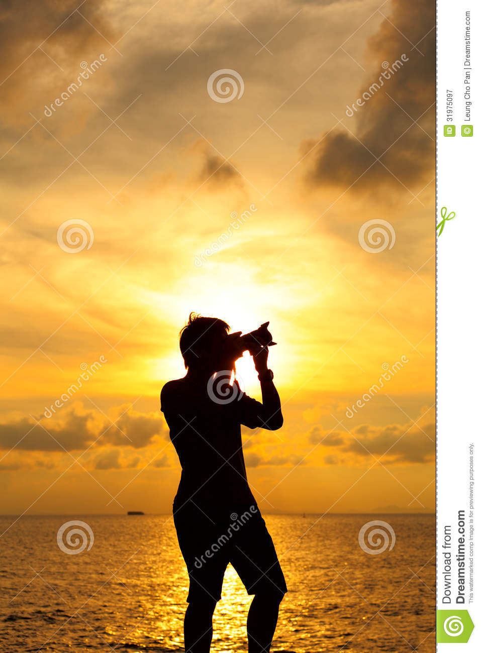 Silhouette Photographer Royalty Free Stock Photography ...