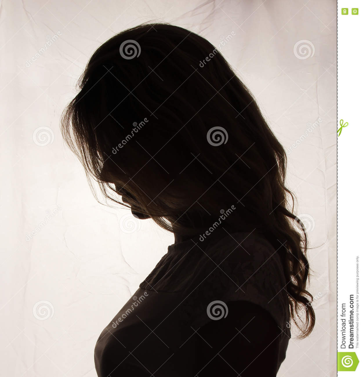 Maternity Silhouette stock photo. Image of model, health