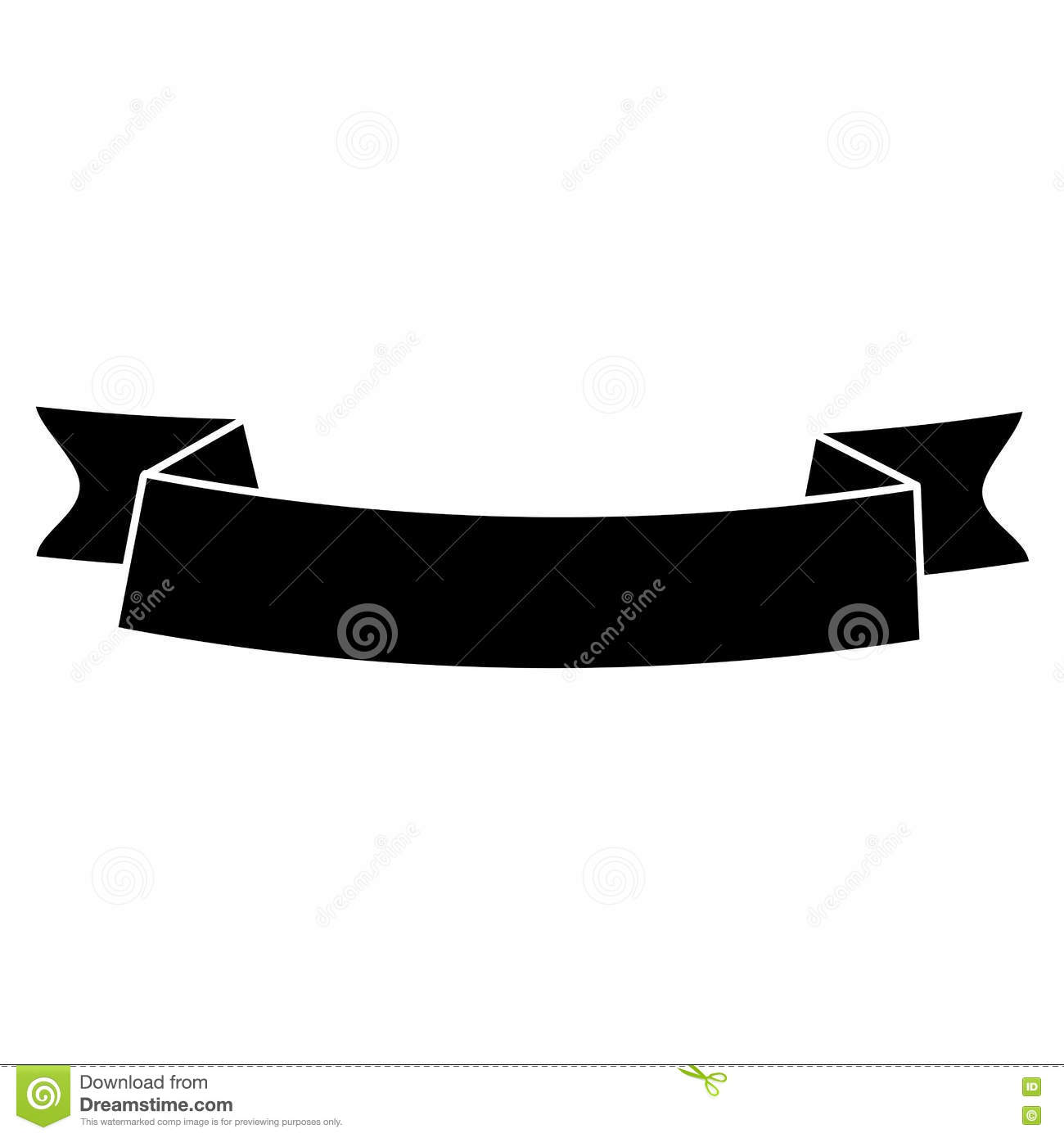 Ribbon Banner Vector Black Pictures to Pin on Pinterest ...