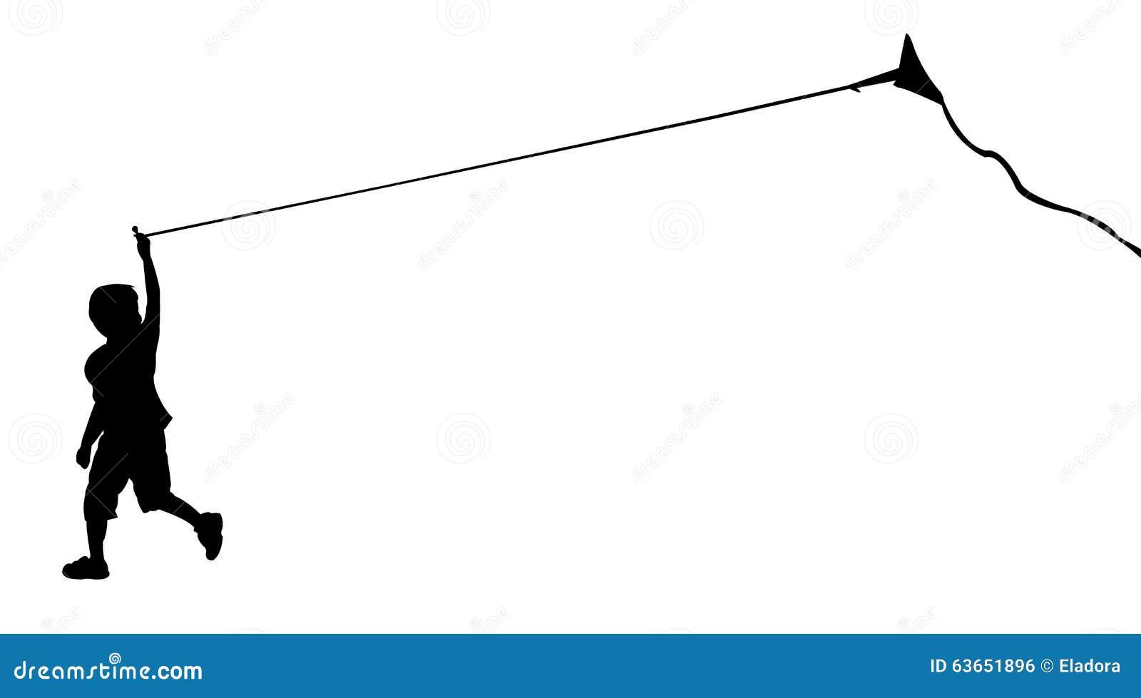 flying kite illustration - photo #40