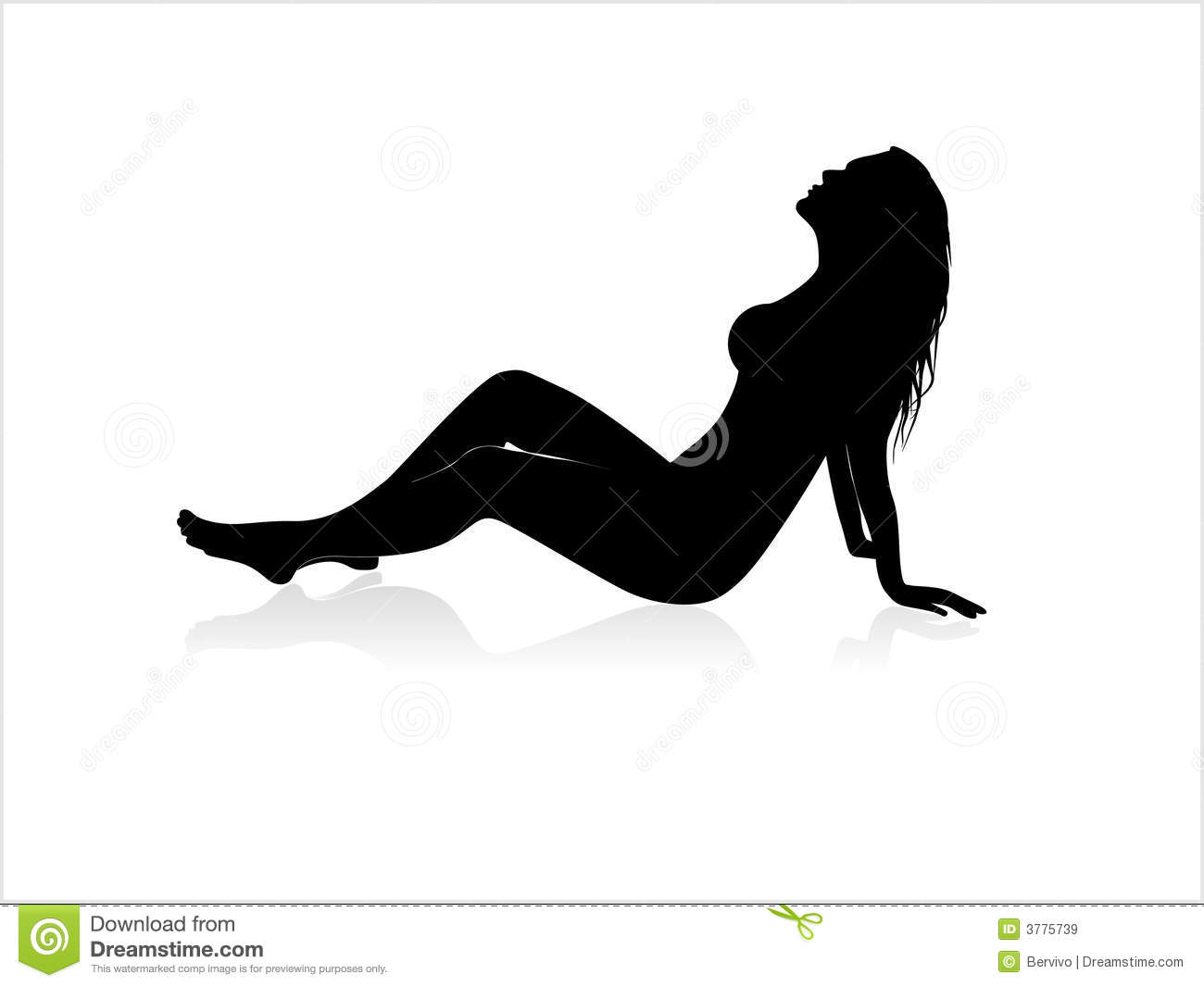 Sexy lady silhouette images recommend