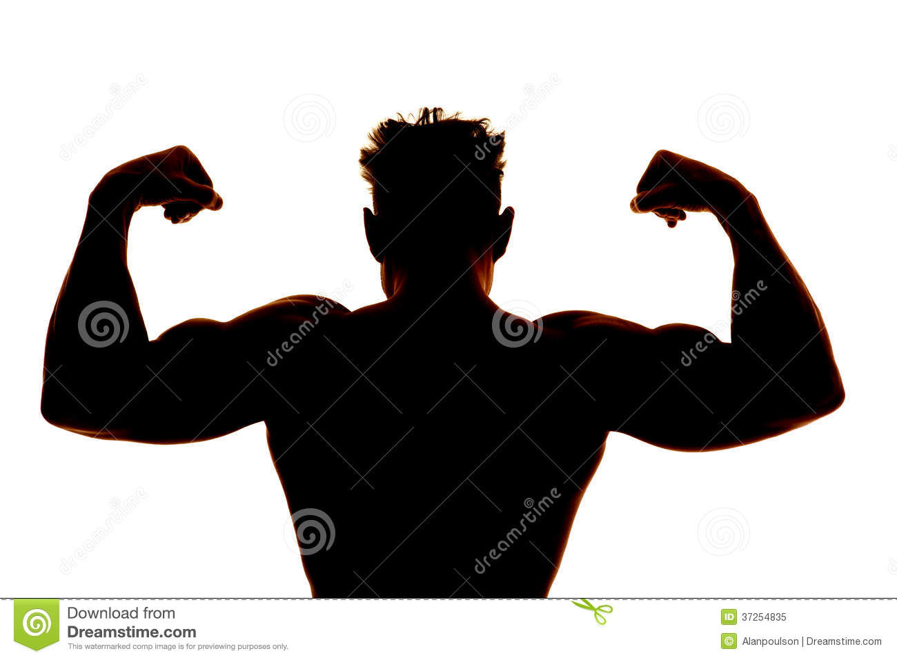 Watch more like Muscle Man Silhouette Clip Art