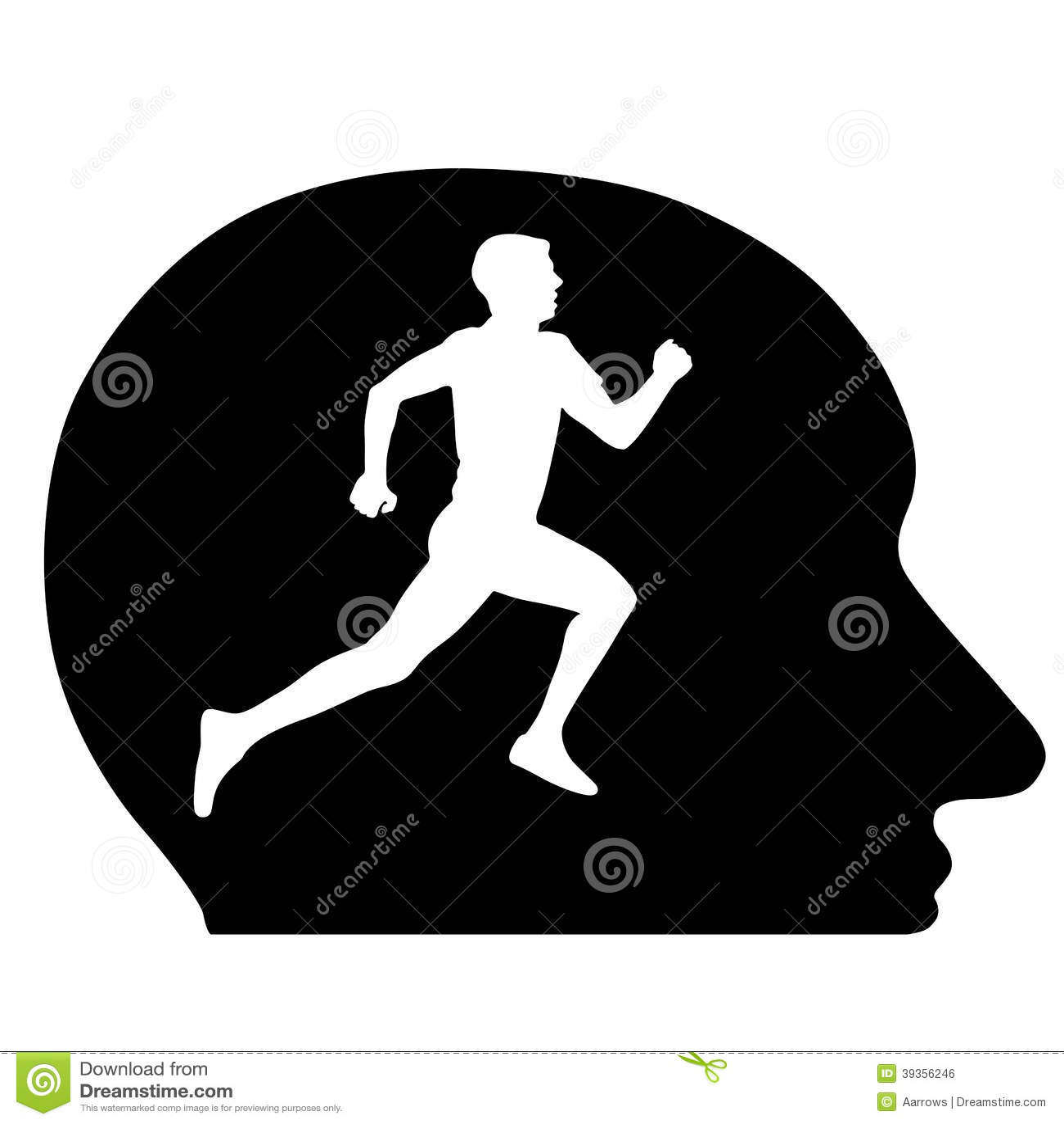 Head running