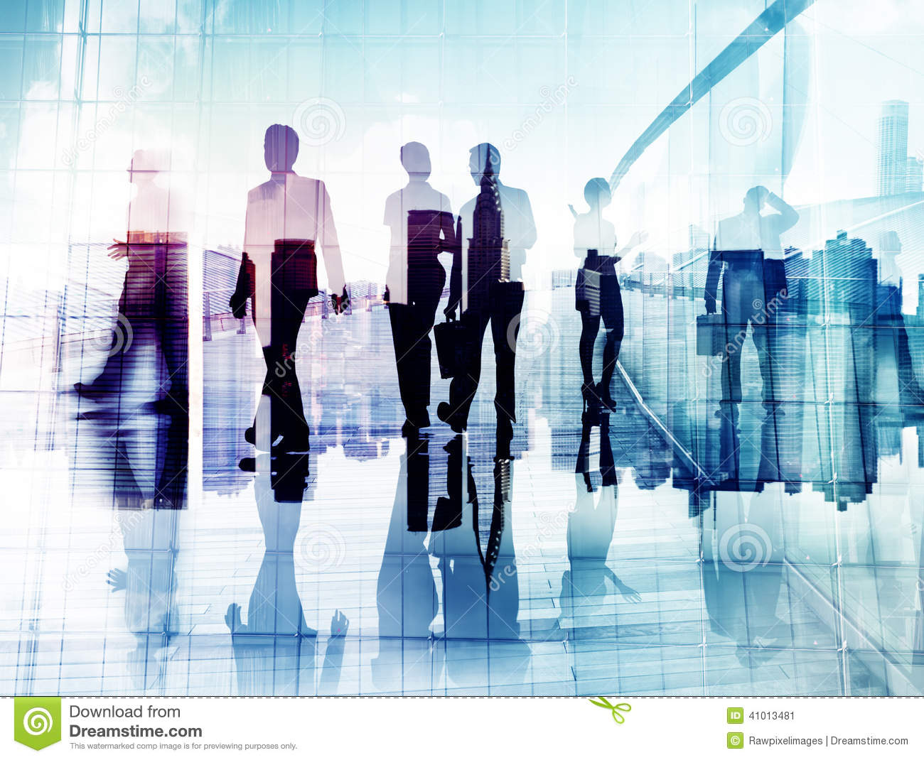 Free Images Traveling People Airport Bridge Business: Silhouettes Of Business People In Blurred Motion Walking