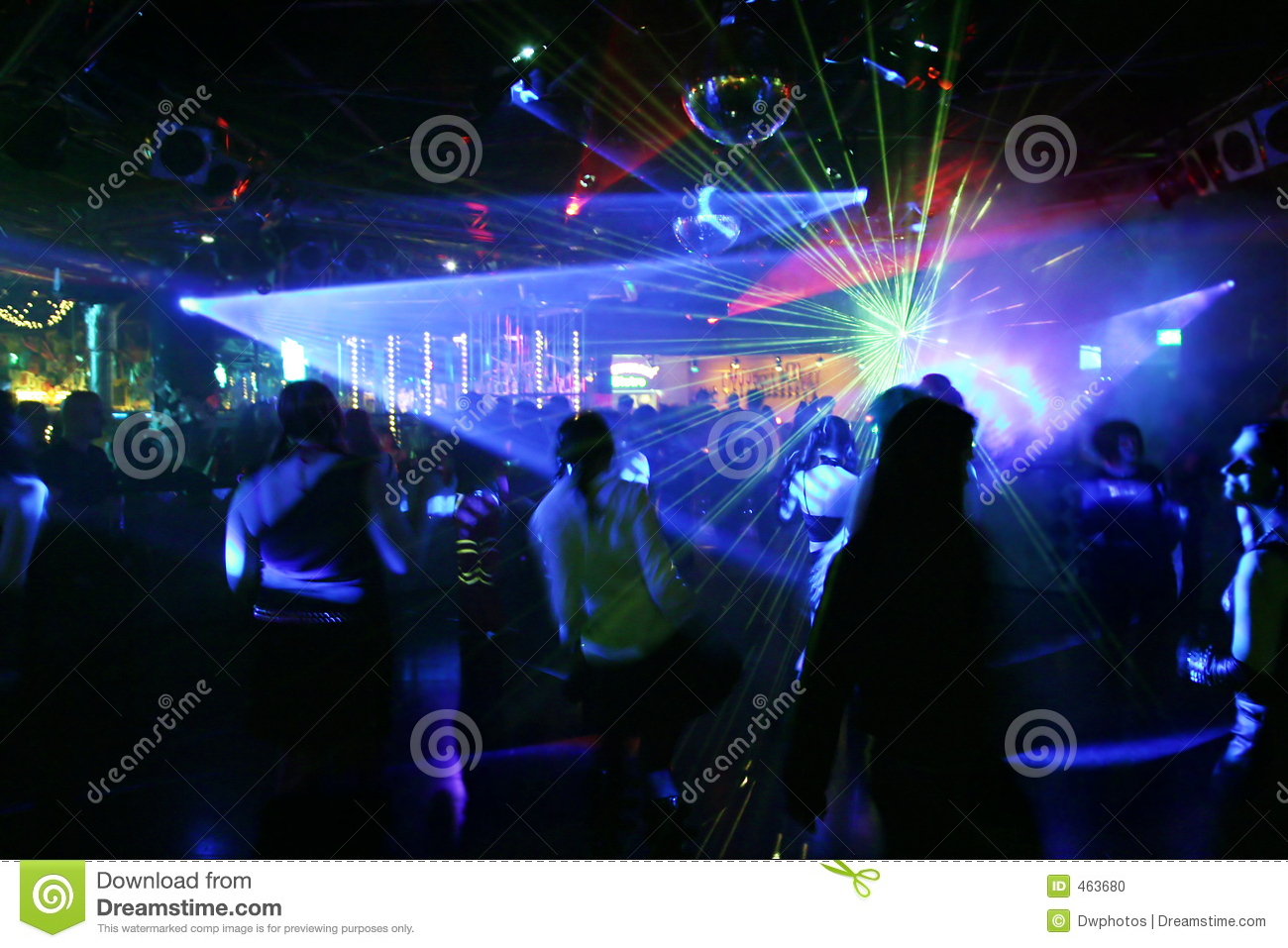 Download Silhouettes Of Dancing People Stock Photo - Image of light, male: 463680