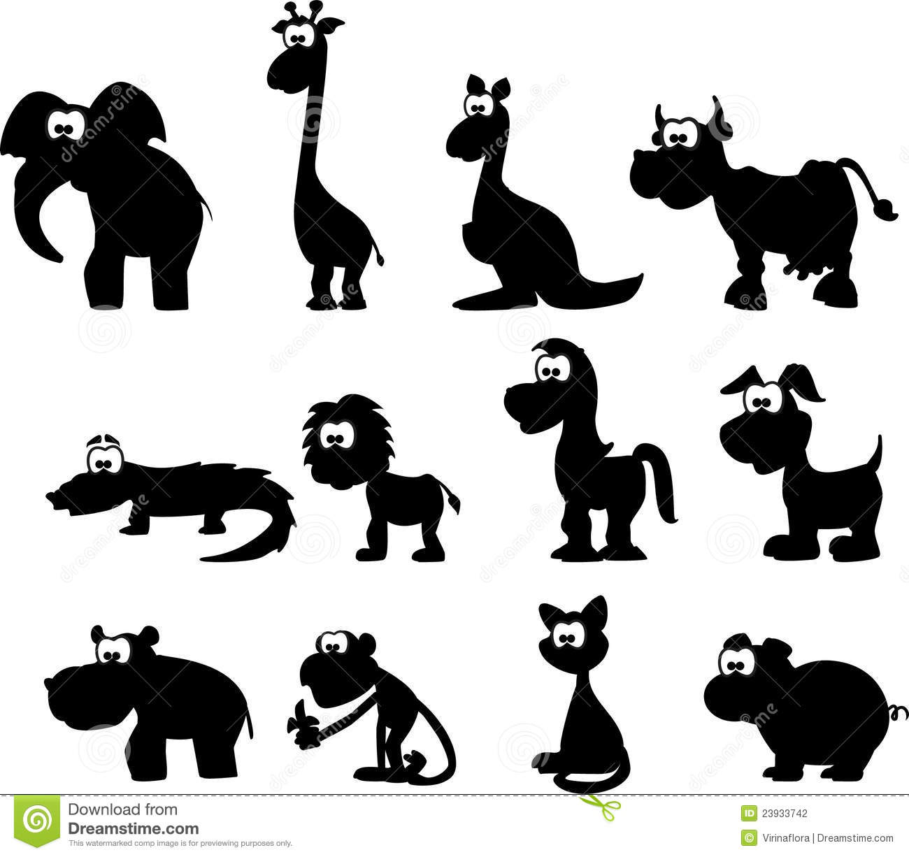 baby zoo animals coloring pages free here
