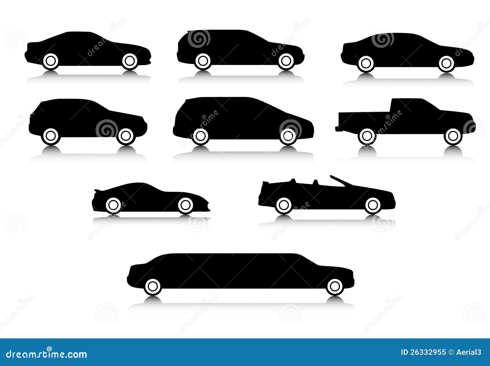 Car Body Types Stock Vector - Image: 65038161
