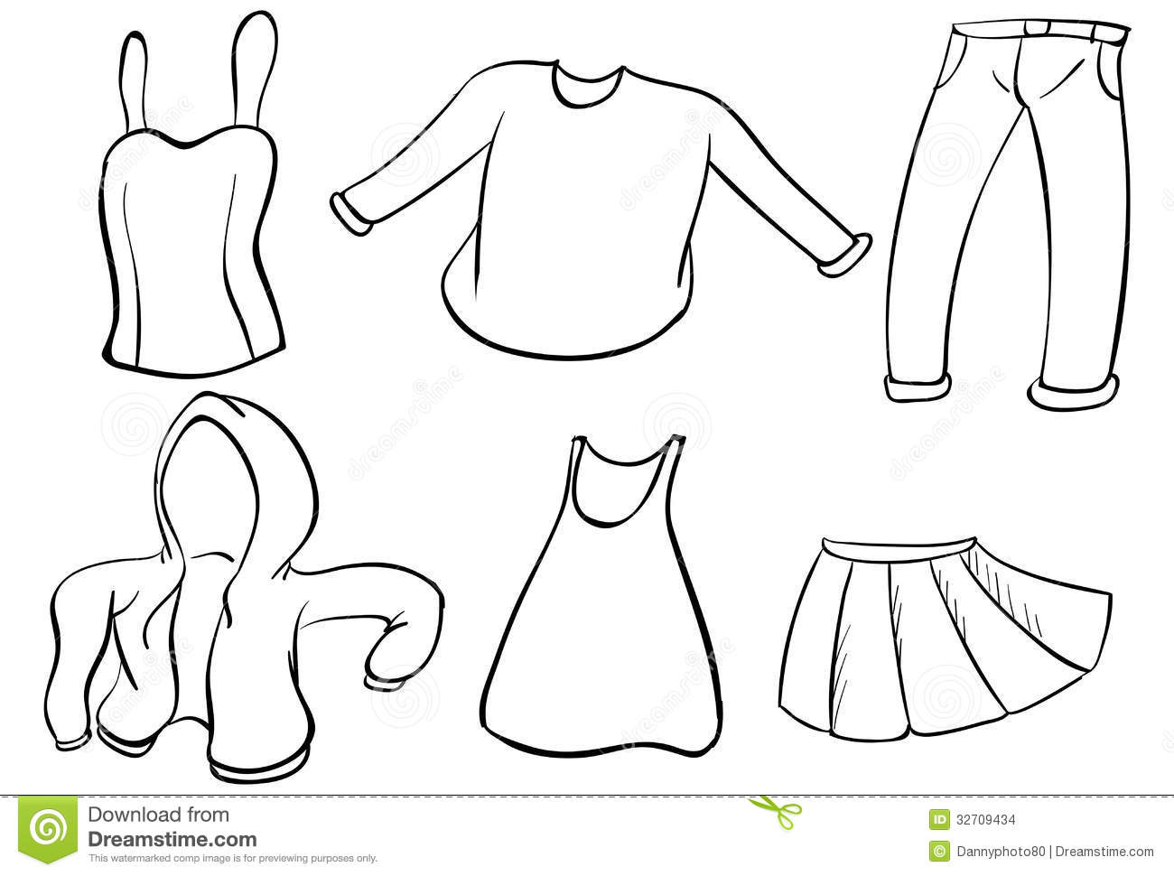 silhouettes of dresses stock images image 32709434