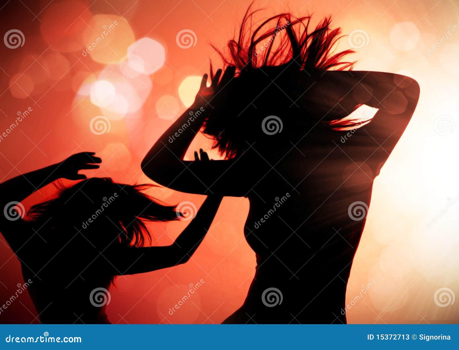 Silhouettes för 1 dans