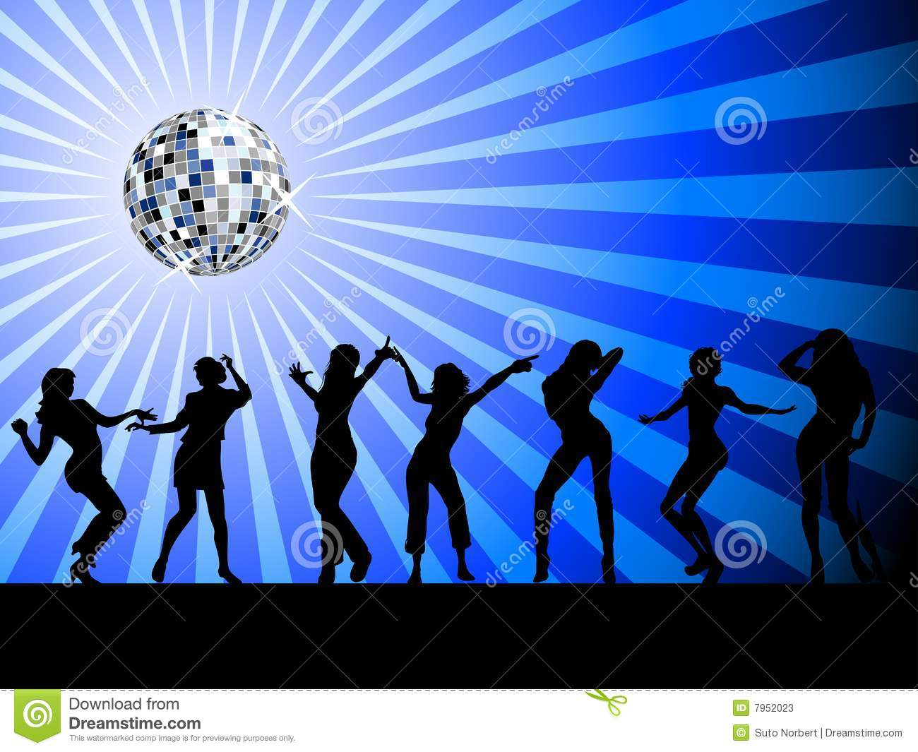 Silhouettes of people dancing on the dancefloor stock for 1 2 3 4 sexin on the dance floor