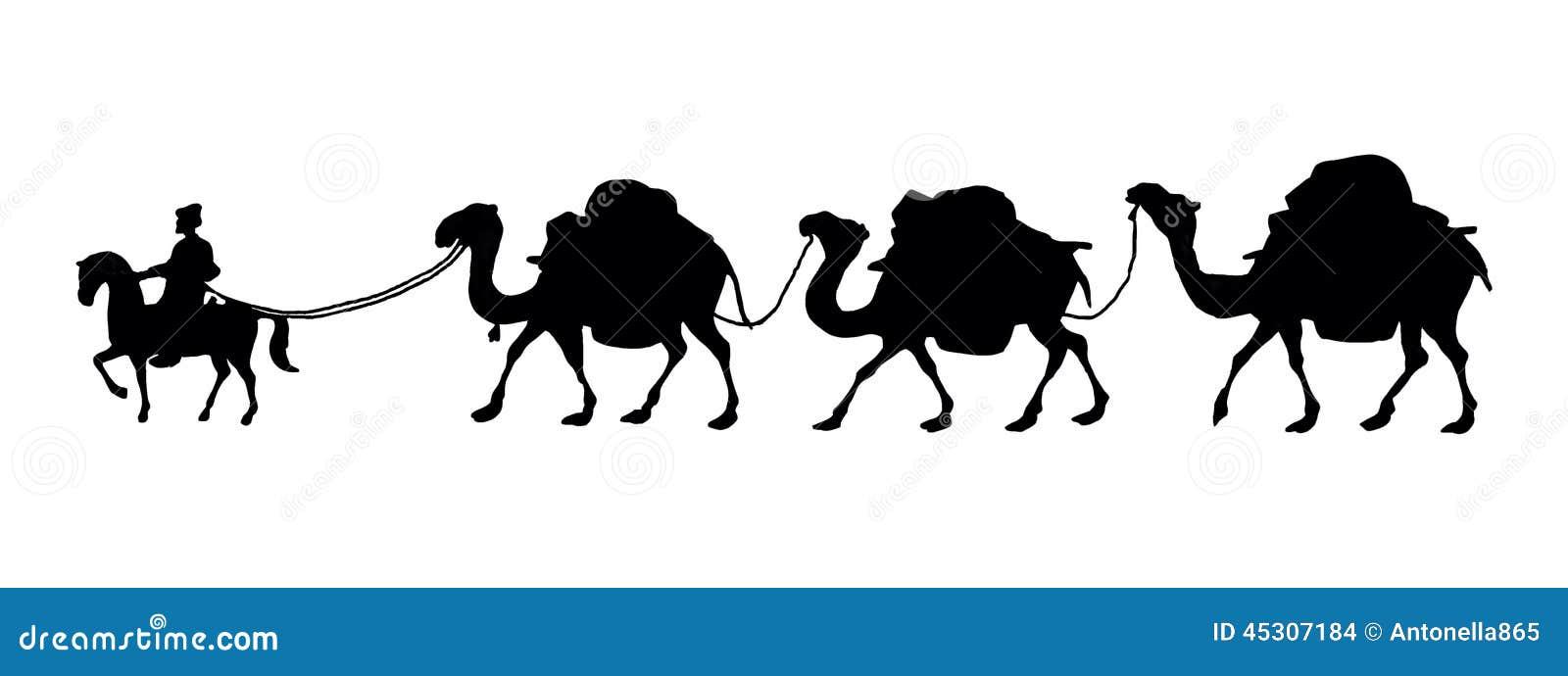Camel Caravan Stock Illustrations 1029 Camel Caravan Stock