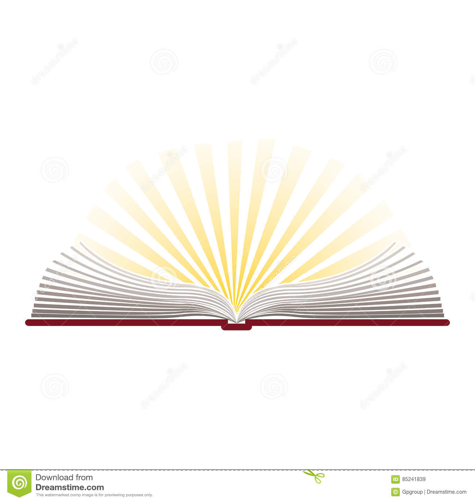 Silhueta Colorida Com A Biblia Sagrada Aberta Ilustracao Stock Ilustracao De Aberta Biblia 85241839