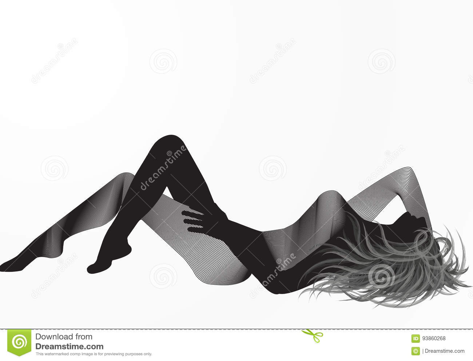 Silhueta 001 da mulher