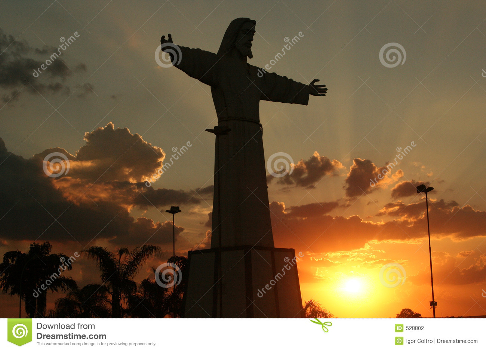 Silhueta de Jesus