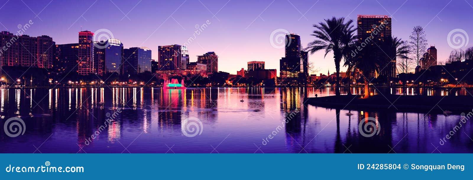 Silhueta de Orlando