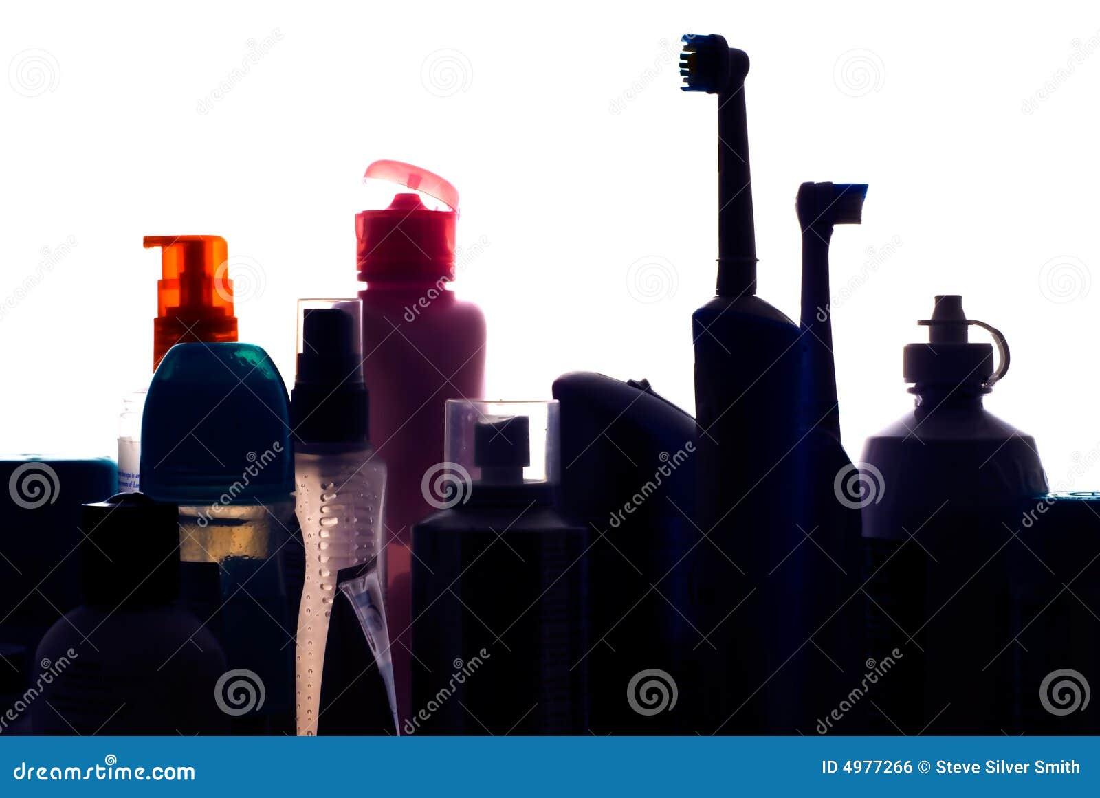 Silhueta Do Gabinete De Banheiro Mim Imagem de Stock Royalty Free  #B92612 1300 960