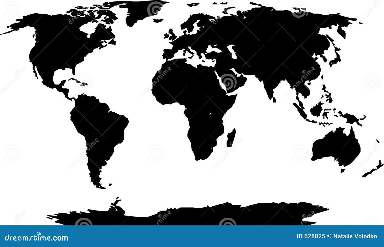 Silhueta do mundo