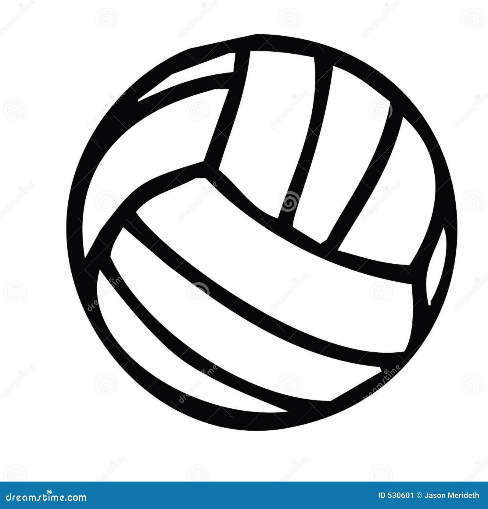Silhueta do voleibol