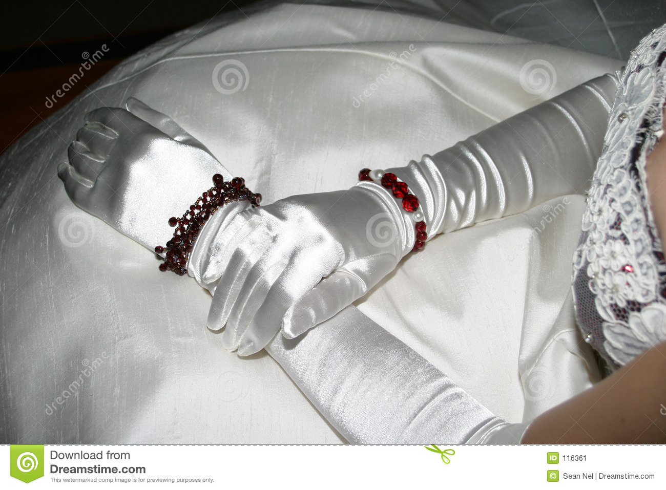 Download Silk Gloves stock image. Image of accessories, gown, hand - 116361