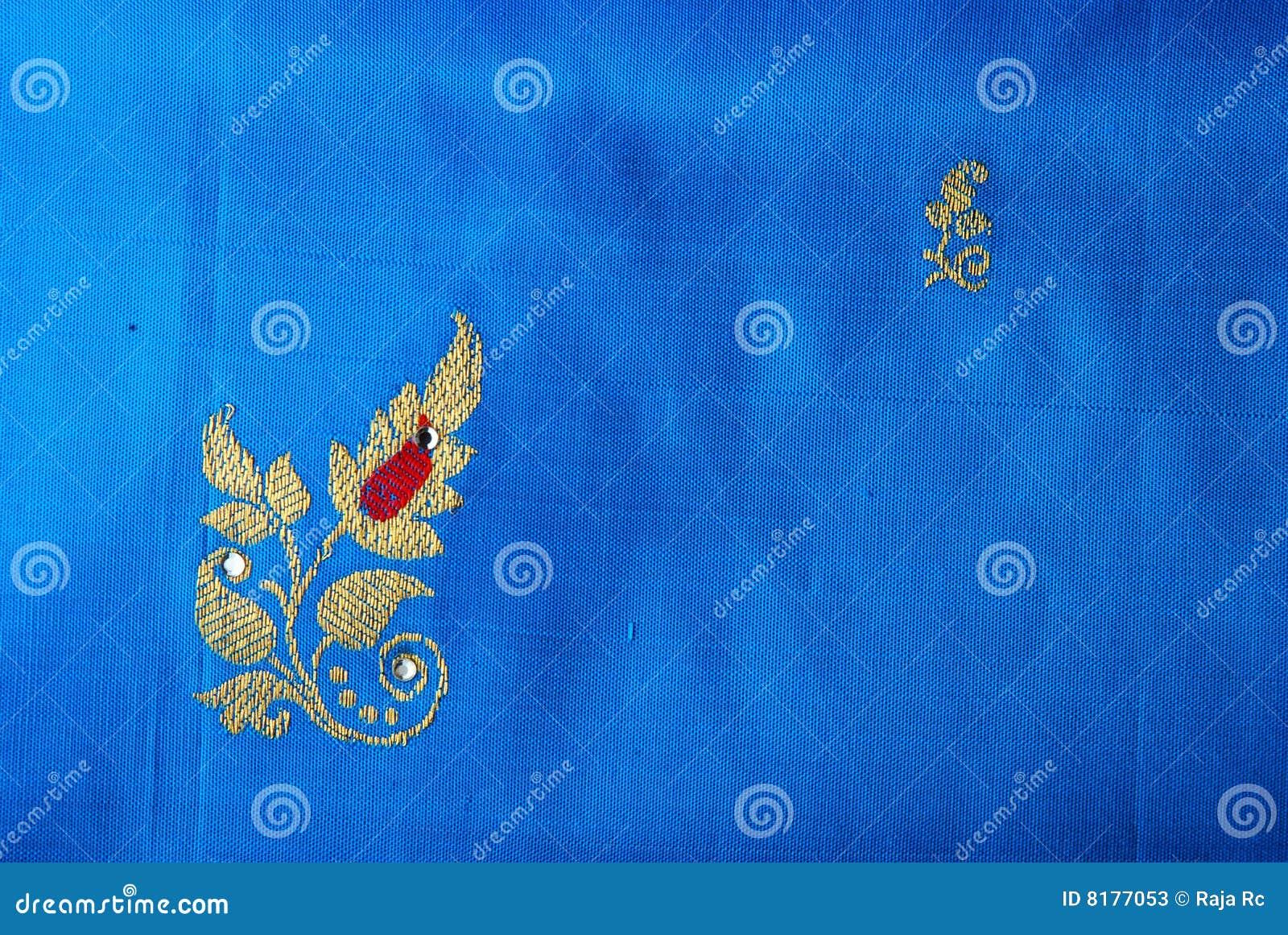 silk saree stock image  image of floral  creativity  tamilnadu