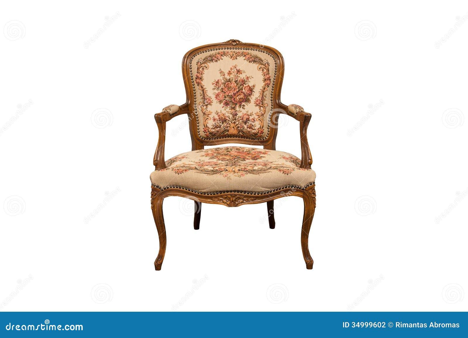 Silla antigua foto de archivo. Imagen de roble, muebles - 34999602