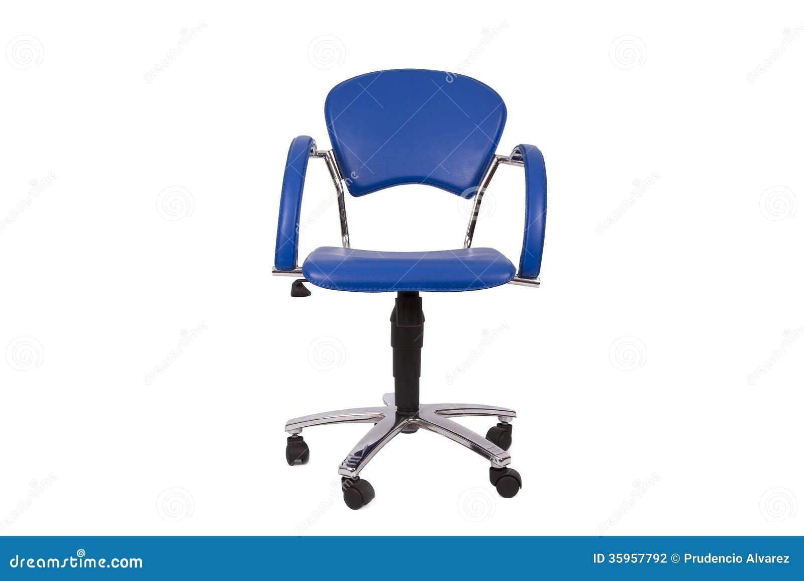 Silla de la oficina aislada