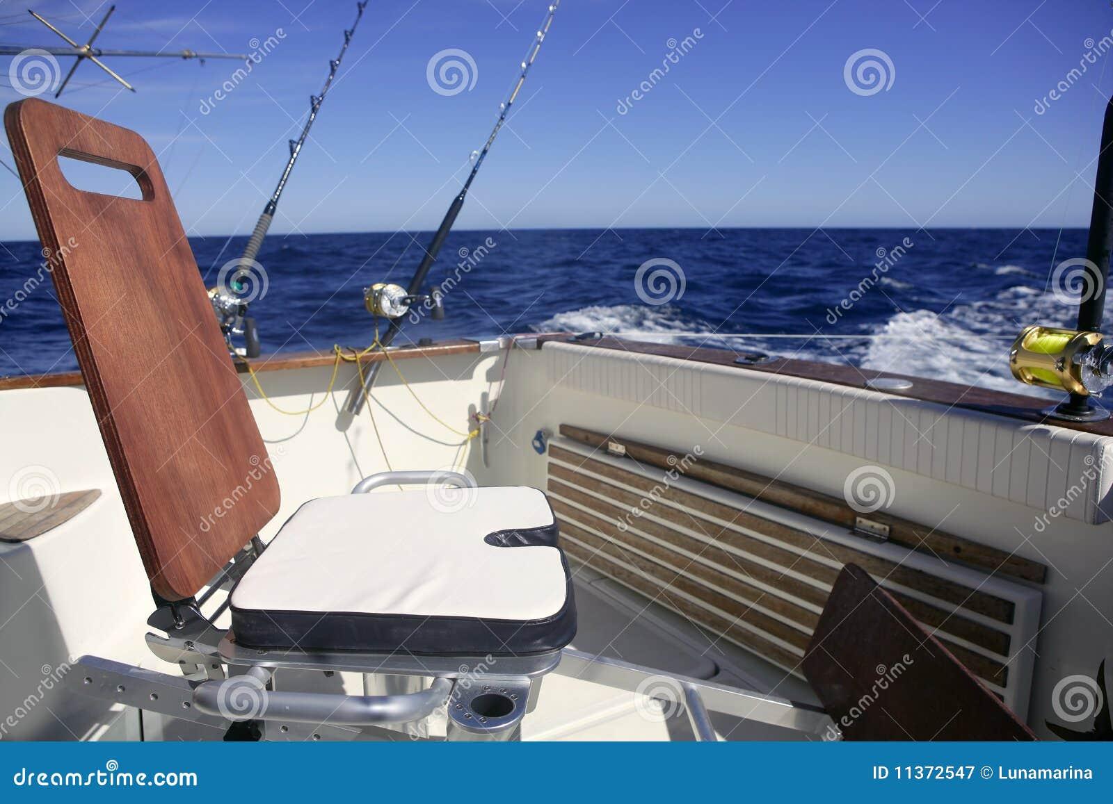 Silla de madera de la pesca del barco del gran juego - Silla de pescar ...