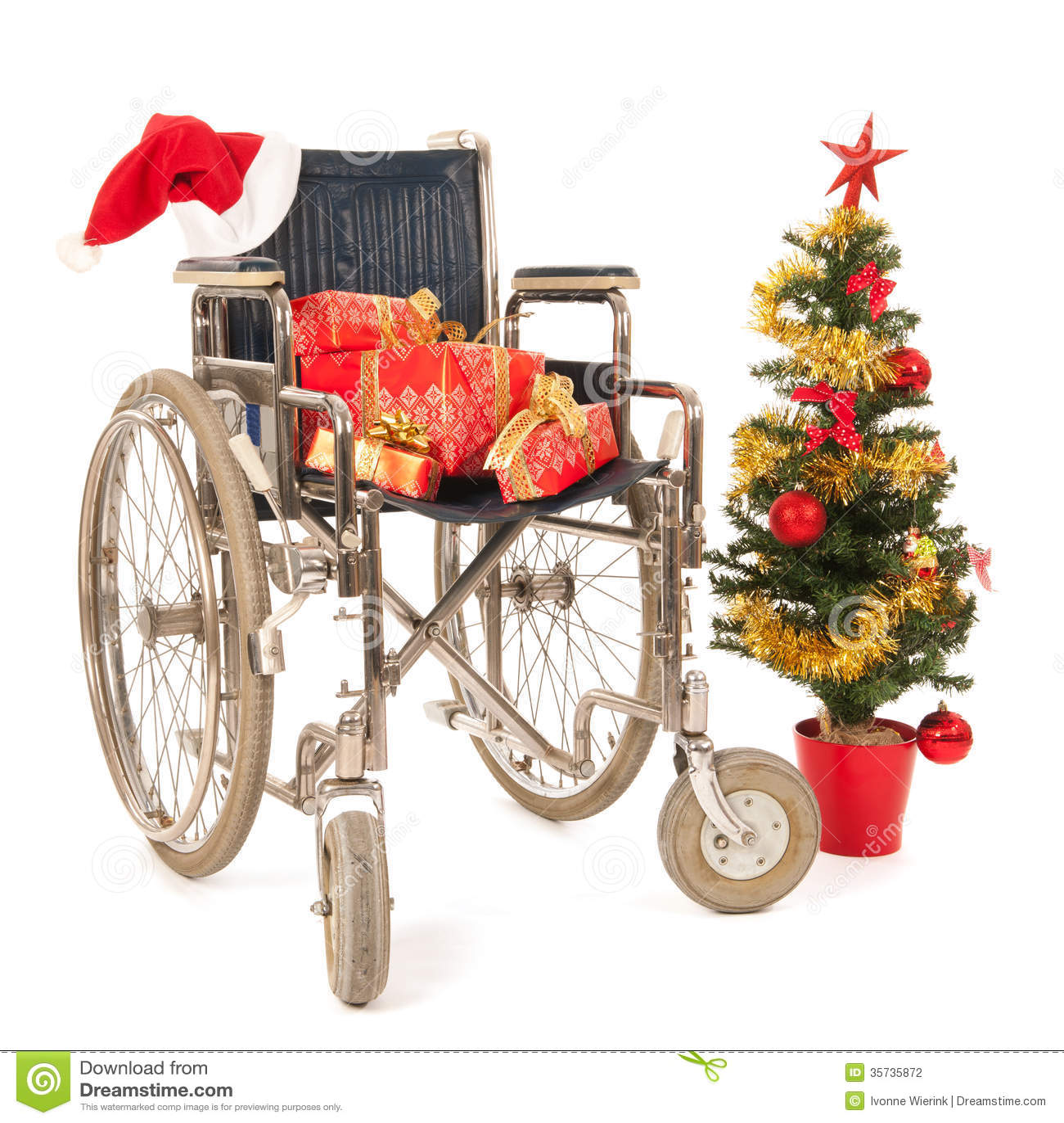 silla de ruedas regalo