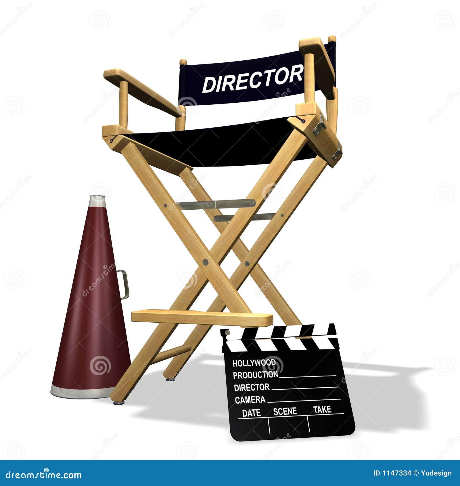Silla del director imagenes de archivo imagen 1147334 for Silla de director