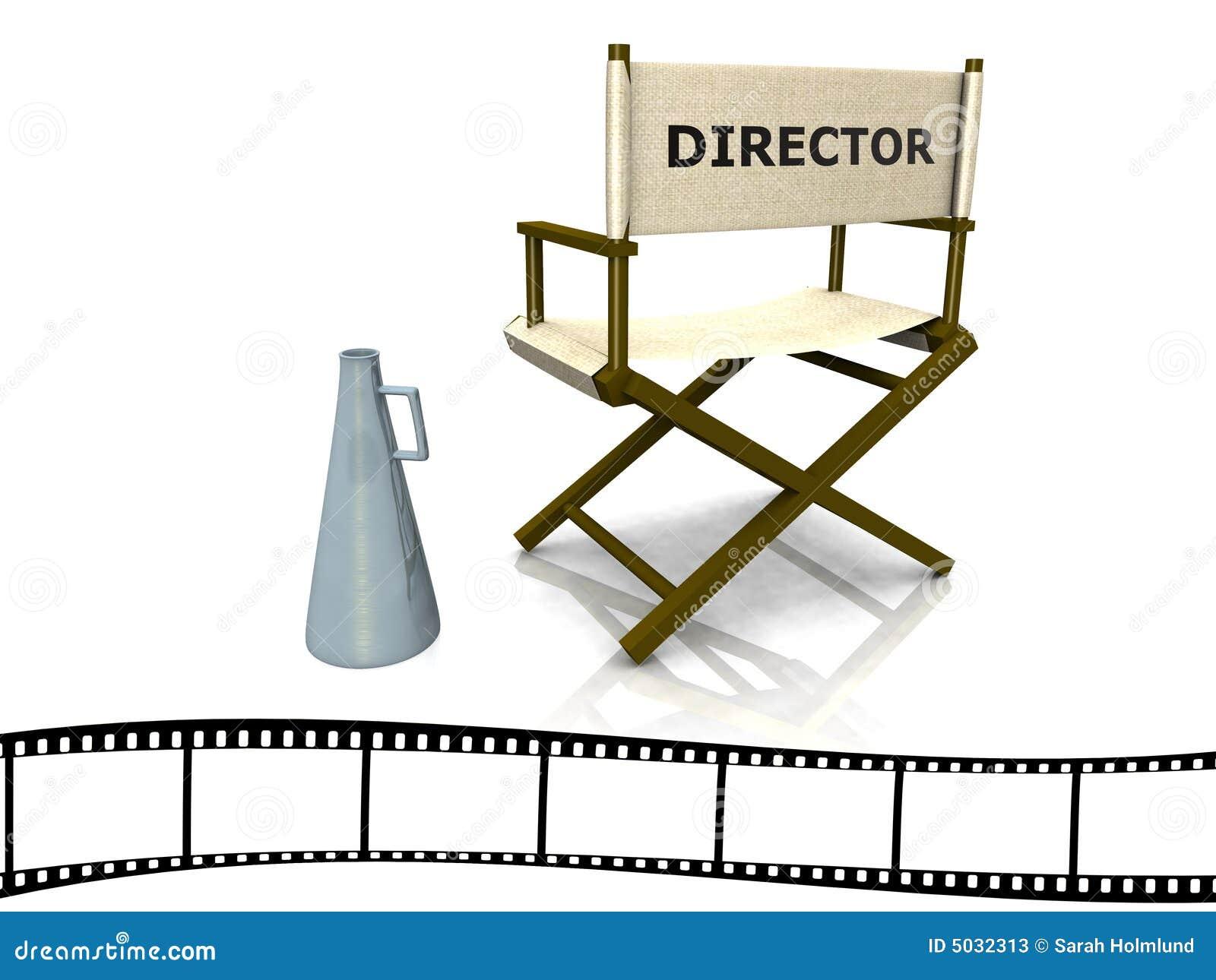 Silla del director fotos de archivo imagen 5032313 - Sillas de director ...