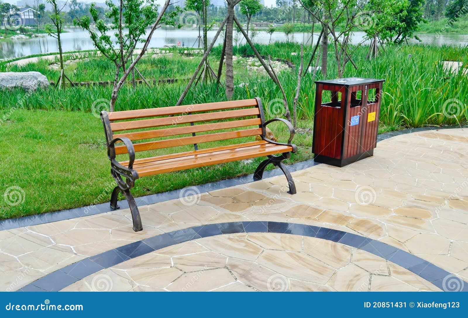 silla en el parque imagen de archivo imagen 20851431