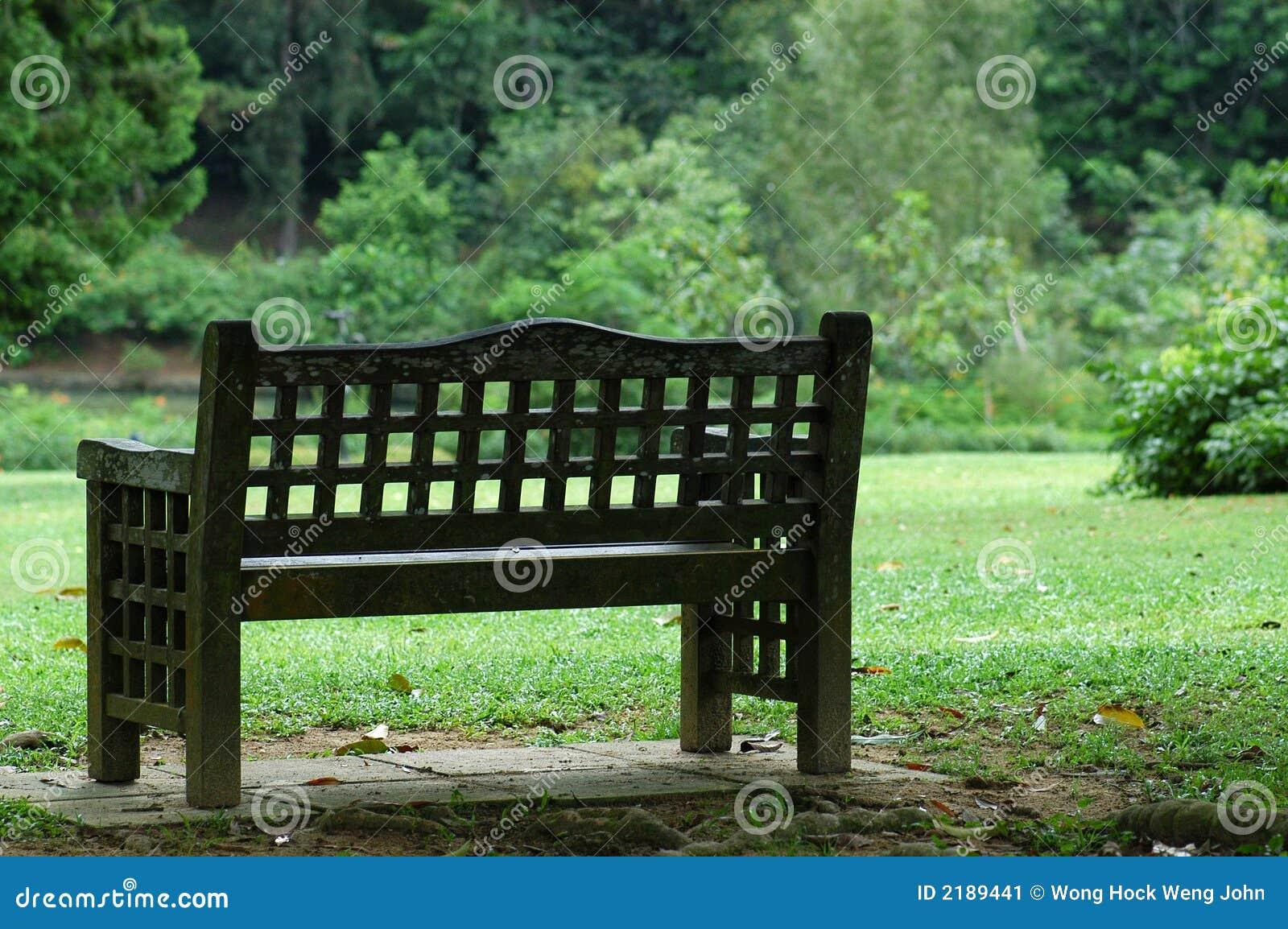 Silla en los parques imagen de archivo imagen de planta for Sillas para parques