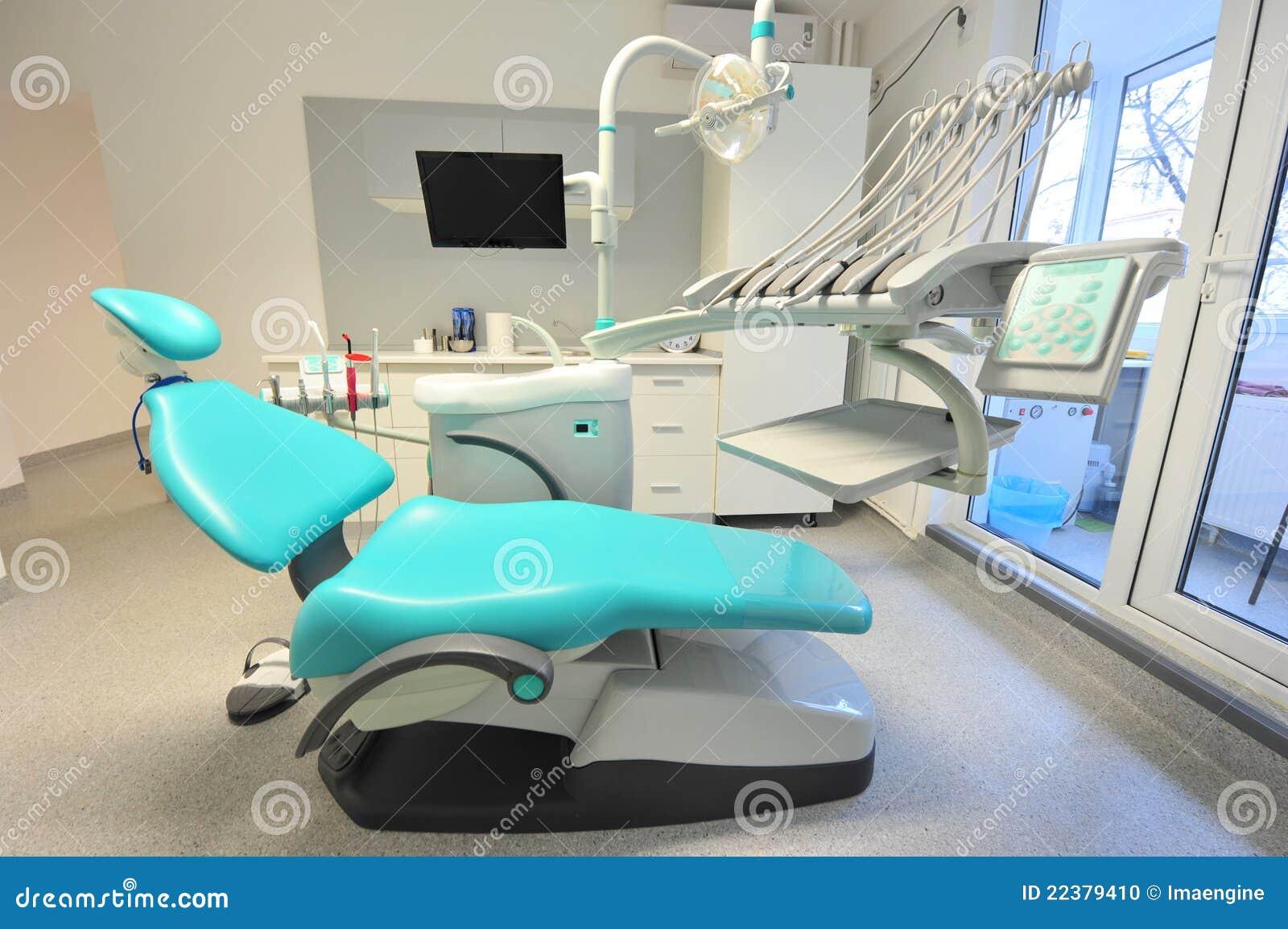 Silla y utensilios modernos de la odontolog a foto de for Utensilios modernos