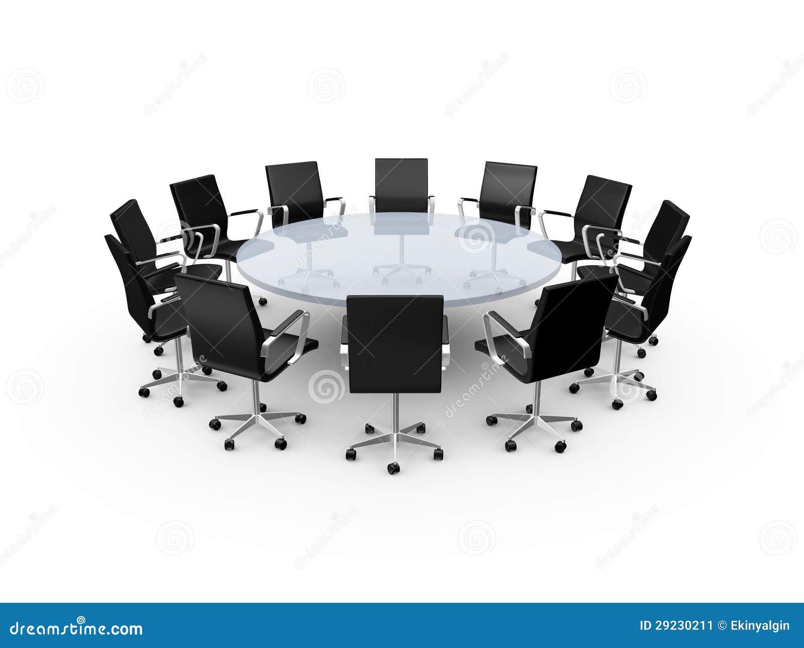 Sillas de la mesa de reuniones y de la oficina imagen de for Mesas y sillas para oficina